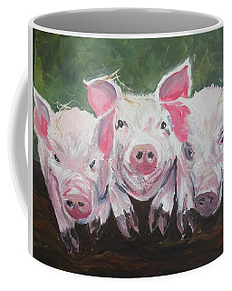 Three Little Pigs Coffee Mug