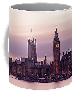 Coffee Mug featuring the photograph Three Minutes After Sunset by Alex Lapidus
