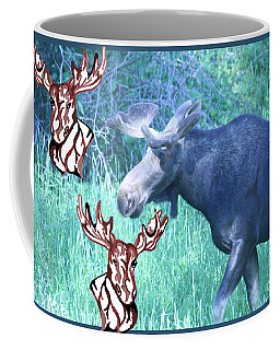 Three Moose Coffee Mug