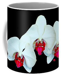 Three Orchids Coffee Mug