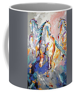 Three Out Of The Mist Coffee Mug
