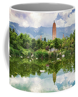 Three Pagodas Coffee Mug