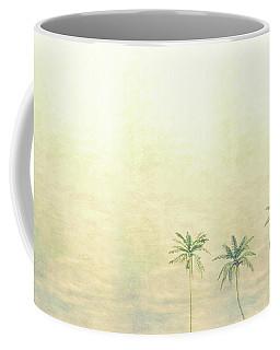 Three Palms In Color Coffee Mug