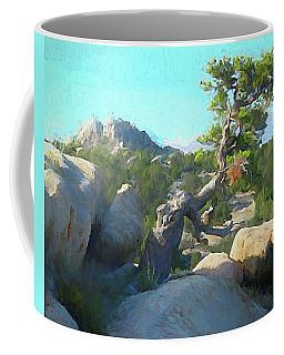Three Peaks View Coffee Mug