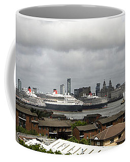 Three Queens On The Mersey Coffee Mug