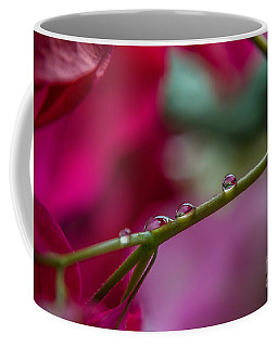 Three Reflecting Drops Coffee Mug