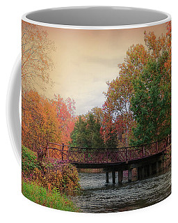 Three Rivers Michigan Coffee Mug