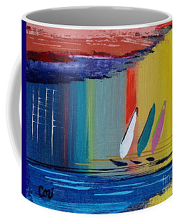 Three Sails Coffee Mug