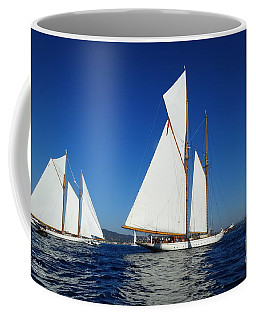 Three Schooners Coffee Mug