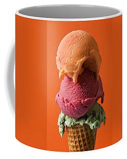 Three Scoops  Coffee Mug
