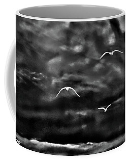 Three Seagulls Coffee Mug