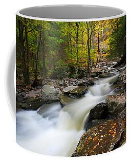 Three Seconds In Fall Coffee Mug