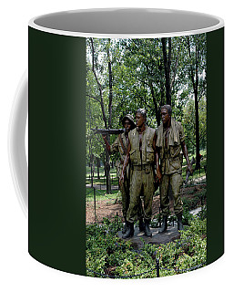 Three Servicemen Coffee Mug