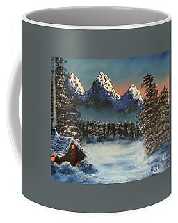 Three Sisters Cozy Cabin Coffee Mug