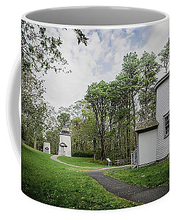 Three Sisters Lighthouses Coffee Mug