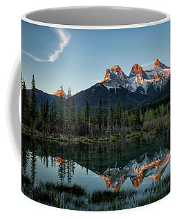 Three Sisters Sunrise Coffee Mug