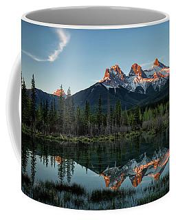 Three Sisters Sunrise Coffee Mug