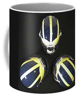 Three Striped Wolverine Helmets Coffee Mug