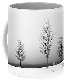 Three Trees In Winter Coffee Mug