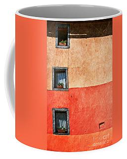 Three Vertical Windows Coffee Mug