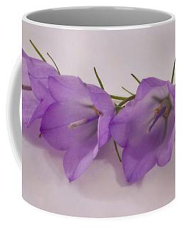 Three Wild Campanella Blossoms - Macro Coffee Mug