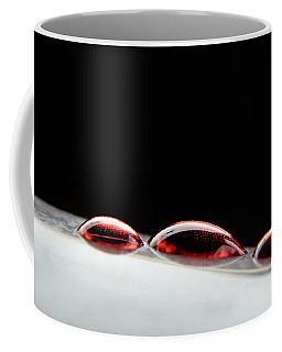 Three Wine Drops Coffee Mug by Michelle Meenawong
