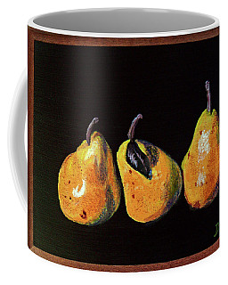 Three Yellow Pears Coffee Mug