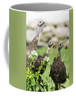 Threes A Crowd Coffee Mug