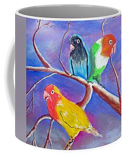 Threesome Coffee Mug by Luis F Rodriguez