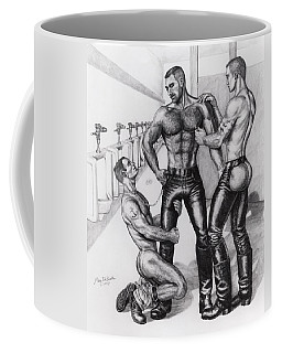 Threeway In Tearoom Coffee Mug