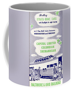 Thrilling Strata-dome Cars Coffee Mug