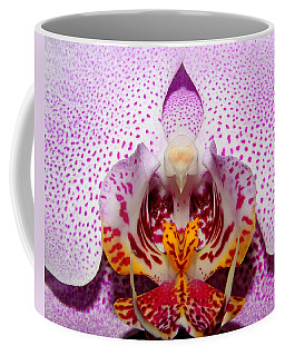 Throat Of An Orchid Coffee Mug