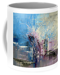 Through Morning's Light Coffee Mug by Tatiana Iliina