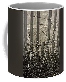 Through The Beach Fence Coffee Mug