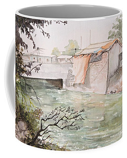 Through The Canal  Coffee Mug