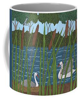 Through The Cattails Coffee Mug