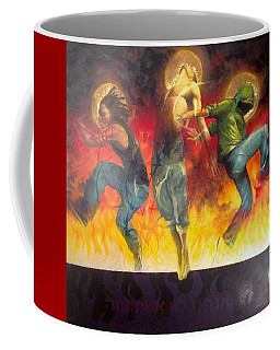 Through The Fire Coffee Mug by Christopher Marion Thomas