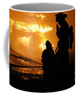 Through The Flames Coffee Mug