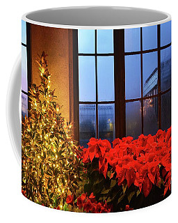 Coffee Mug featuring the photograph Through The Foggy Window by Cindy Manero