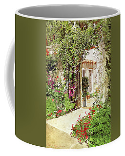 Through The Garden Gate Coffee Mug
