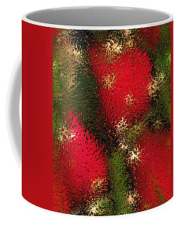 Coffee Mug featuring the photograph Strawberries Behind  The Glass by Maciek Froncisz