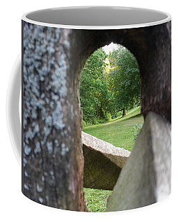 Coffee Mug featuring the photograph Through The Post by Robert Knight