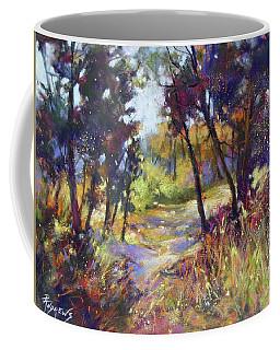 Through The Trees Coffee Mug by Rae Andrews