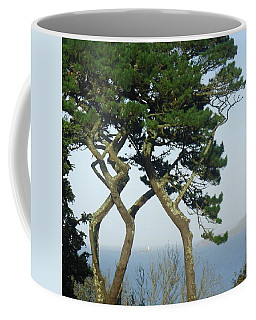 Through The Trees To Godrevy From St. Ives Coffee Mug