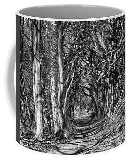 Through The Tunnel Bw 16x20 Coffee Mug