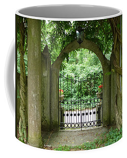 Through The Tuscan Gate Coffee Mug