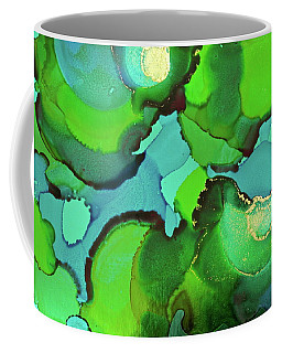 Coffee Mug featuring the painting Through The Waters by Michele Myers