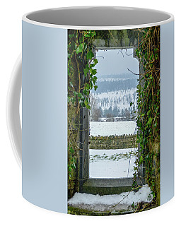 Through The Window Coffee Mug