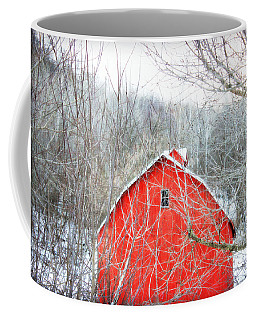 Coffee Mug featuring the photograph Through The Woods by Julie Hamilton