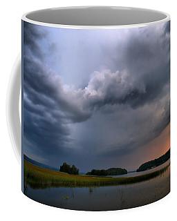 Coffee Mug featuring the photograph Thunder At Siuro by Jouko Lehto